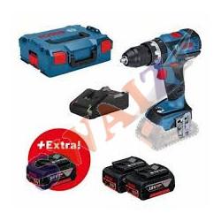 GSr 18V-21+3x2,0AH+L-Case