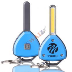 Lámpara portatil de taller 60+17 LED SMD bateria litio