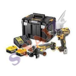 Mini-Amoladora XR 18V 125mm sin cargador/batería DCG412NT-XJ (CON MALETÍN TSTAK)