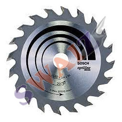 Disco sierra circular Bosch diámetro 130mm-20 dientes
