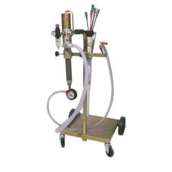 Conjunto móvil aspiración aceite / anticongelante usado