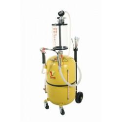 Recuperador aceite usado con precámara de vacío