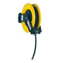 Enrollador orientable con 10 m. manguera para grasa
