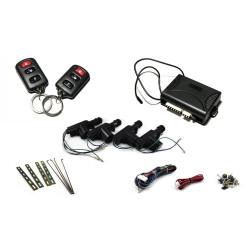 Kit de Cierre Centralizado (4 puertas) con 2 mandos y 4 Motores