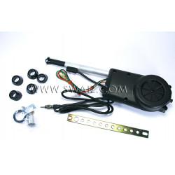 Antena automática cromada