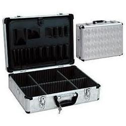 Caja de herramientas vacía de aluminio