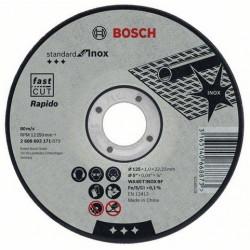2608603171 Disco corte inox. 125x1 Standard Bosch