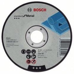 2608603162 Disco corte metal cóncavo Bosch 230x3