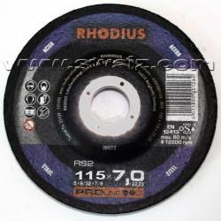 RHO200184 Disco desbaste Rhodius RS2-115X7