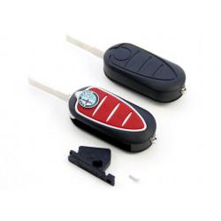 Carcasa de llave para Alfa Romeo con espadín plano y 3 botones