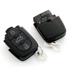Carcasa de Llave para Mando de Audi con 3 botones