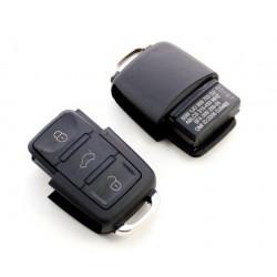 Carcasa de llave para VW SEAT AUDI SKODA con 3 botones