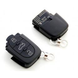 Carcasa de llave para VW AUDI SEAT SKODA con 3 botones