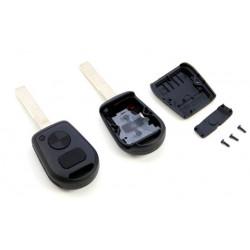 Carcasa de llave para BMW con espadín y 2 botones