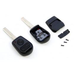 Carcasa de llave para BMW con espadín plano y 3 botones