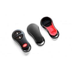 Carcasa para Chrysler, Jeep y Dodge con 3 botones
