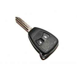Carcasa de llave para Chrysler Jeep Dodge con espadín y 2 botones