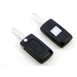 Carcasa de llave para Citroen con espadín y 2 botones