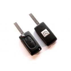 Carcasa de Llave para Citroen C2 C3 C4 C5 Picasso con 3 botones