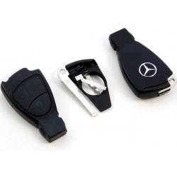 Carcasa de llave para Mercedes Benz con 3 botones y espadín