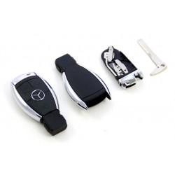 Carcasa de Llave para Mandos de Mercedes con 3 botones