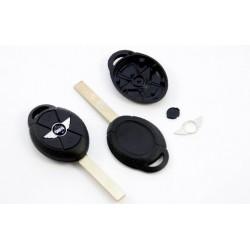Carcasa de llave para Mini One Cooper S Clubman.. con 3 botones