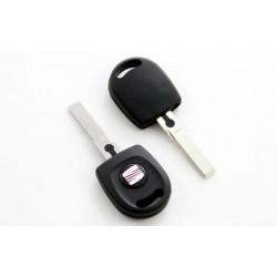Carcasa de llave para Seat Toledo Ibiza Cordoba.. con botón, espadín y luz