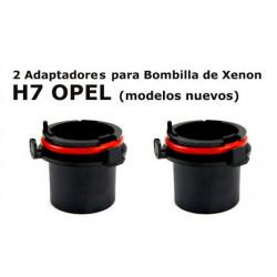 Adaptadores Xenon para H7 OPEL modelos nuevos