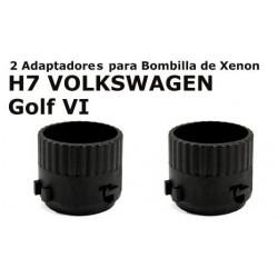 Adaptadores Xenon para H7 VW Golf VI
