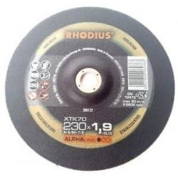 RH0208122 Disco corte Rhodius XTK70-230X1,9