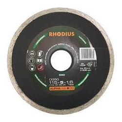 Disco de diamante banda contínua Rhodius DG50-115