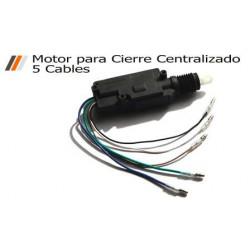 Motor maestro hasta 7Kg para Sistema de Cierre Centralizado (5 cables)