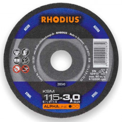 Disco desbaste 115mm Rhodius KSM-115X7