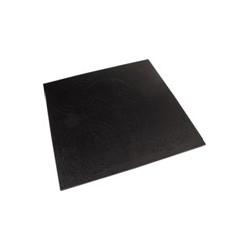 PLACA ABS NEGRA PARA RECORTAR 300 x 300 mm