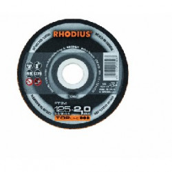 Disco Rhodius esp. aluminio FT24-125x2mm
