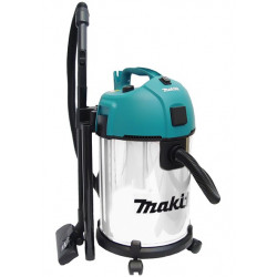 Aspirador Makita 1300W 35L Inox