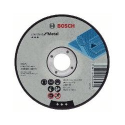 Disco corte Standard for metal  Bosch 125x2,5mm plano