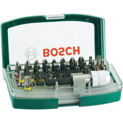 Set Bosch de 32 unidades para atornillar (con puntas de seguridad)