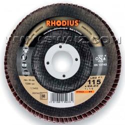 RHO202675 Disco abrasivo de láminas Rhodius LSZ-F1-80X115
