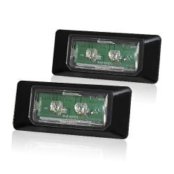 2 Plafones Led Placa de Matrícula 10W E39 Osram Chip