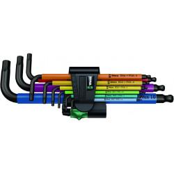 Juego de llaves allen multicolor
