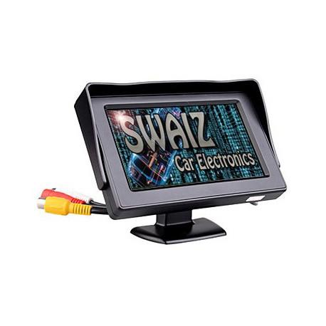 """Monitor digital de 4,3"""" - 2 x Entradas de Vídeo"""
