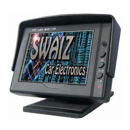 "Monitor digital de 3,5"" - 2 x Entradas RCA"