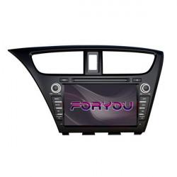 HONDA CIVIC MK9 EU (+2011) - 2DIN GPS HD