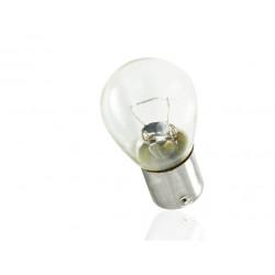 Caja 10 Lámparas halógenas mini BA15S 12V/21W S25 Transparente E8