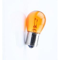 Caja 10 Lámparas halógenas mini BAU15S 21W 12V Ambar E8