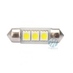 2 Bombillas de LED Festoon de 36mm Can Bus