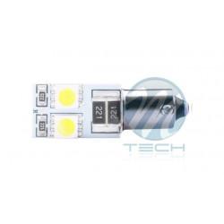 Blister x2 Lámpara led L314 - Ba9s 4xSMD5050 CANBUS - Blanco 12V