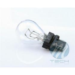 Caja 10 Lámparas halógenas mini 3157 27/7W 12V W3*16D Transparente E8