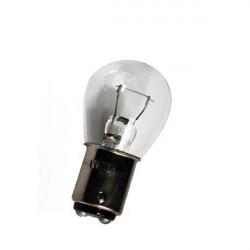 Caja 10 Lámparas halógenas mini BA15D 21W Transparente 12V E8